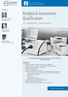 Live Online Training: Analytical Instrument Qualification