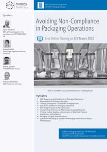 Live Online Training: Avoiding non-Compliance in Packaging Operations