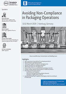 Avoiding non-Compliance in Packaging Operations