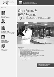 Live Online Training - Clean Rooms & HVAC Systems