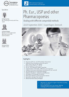 Ph. Eur., USP and other Pharmacopoeias - Dealing with different compendial methods
