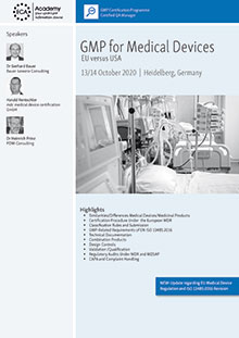 GMP for Medical Devices