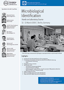 Microbiological Identification - Hands-on Laboratory Course