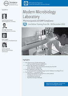 Live Online Training - Modern Microbiology Laboratory