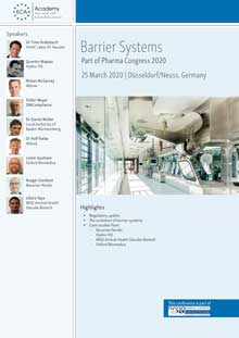 Barrier Systems - This conference is part of Pharma Congress 2020