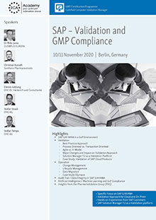 SAP: Validation and GMP Compliance
