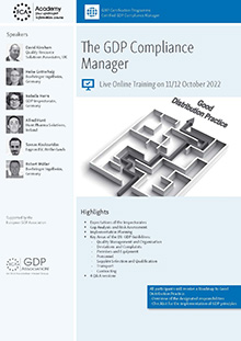 Live Online Training: The GDP Compliance Manager