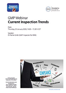 Webinar: Current Inspection Trends