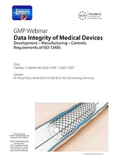 Webinar - Data Integrity of Medical Devices