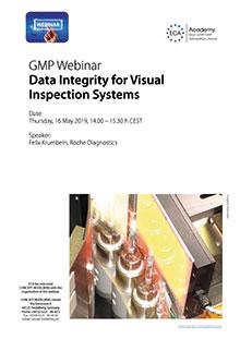 ECA Webinar: Data Integrity for Visual Inspection