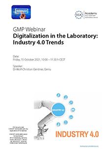 Webinar: Digitalization in the Laboratory - Industry 4.0 Trends