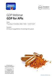 Webinar GDP for APIs