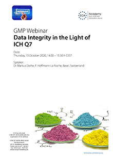 Webinar: Data Integrity in the Light of ICH Q7