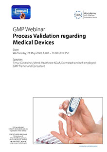 Webinar: Process Validation Medical Devices
