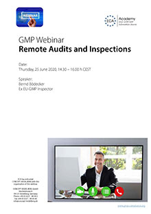 Webinar: Remote Audits and Inspections