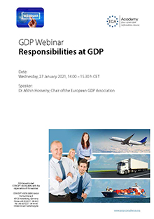 Webinar: Responsibilities at GDP