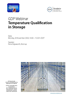 Webinar: Temperature Qualification in Storage