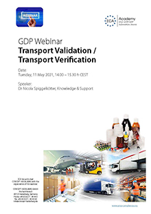 Webinar: Transport Validation / Transport Verification