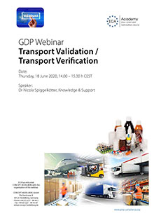 Webinar Transport Verification / Transport Validation