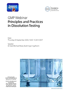Webinar: Principles and Practices in Dissolution Testing