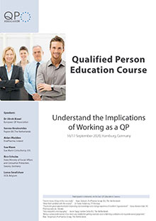 Qualified Person Education Course